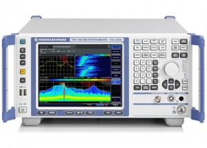 Real time spectrum analyzer